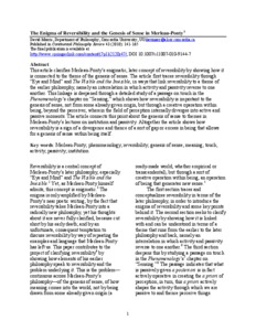 sense and nonsense merleau ponty pdf