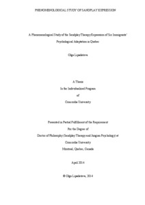 Phd thesis phenomenology