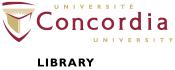 concordia library logo